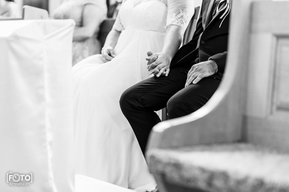 Zdjęcia z ceremoni ślubnej