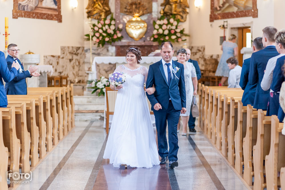 Forografia ślubna w kościele