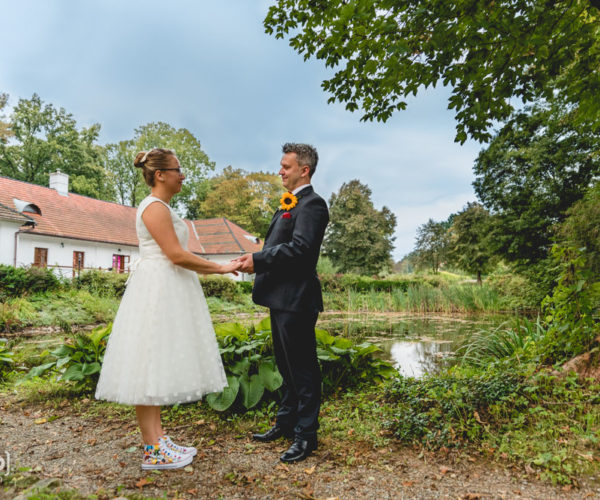Sesja ślubna w dworku - Krosno