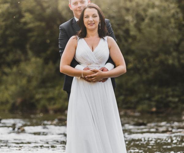 Plener ślubny nad wodą - Podkarpacie